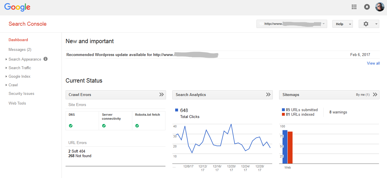 Get information about users who search for you from Google Search Console