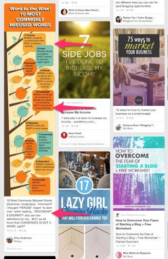 The best Pinterest images have a ratio of 2:3