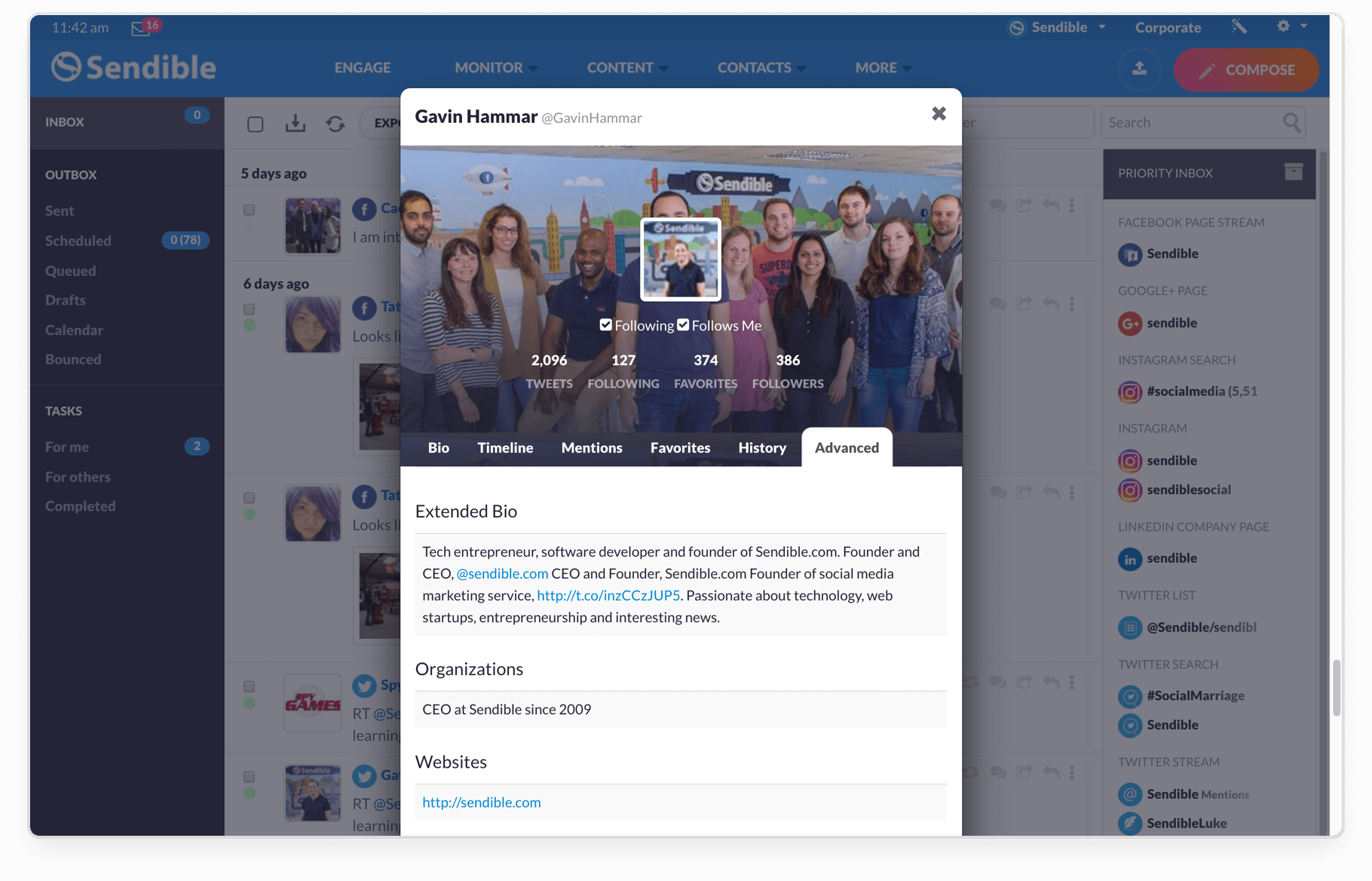 Build a more complete customer profile with social insights