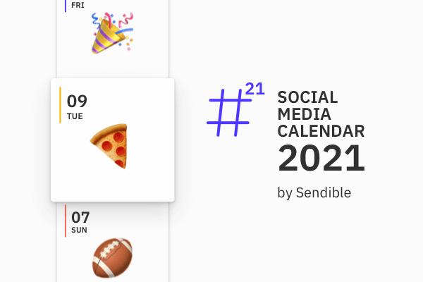 2021 social media holiday calendar preview
