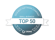 sendible as a top 50 small business on g2crowd