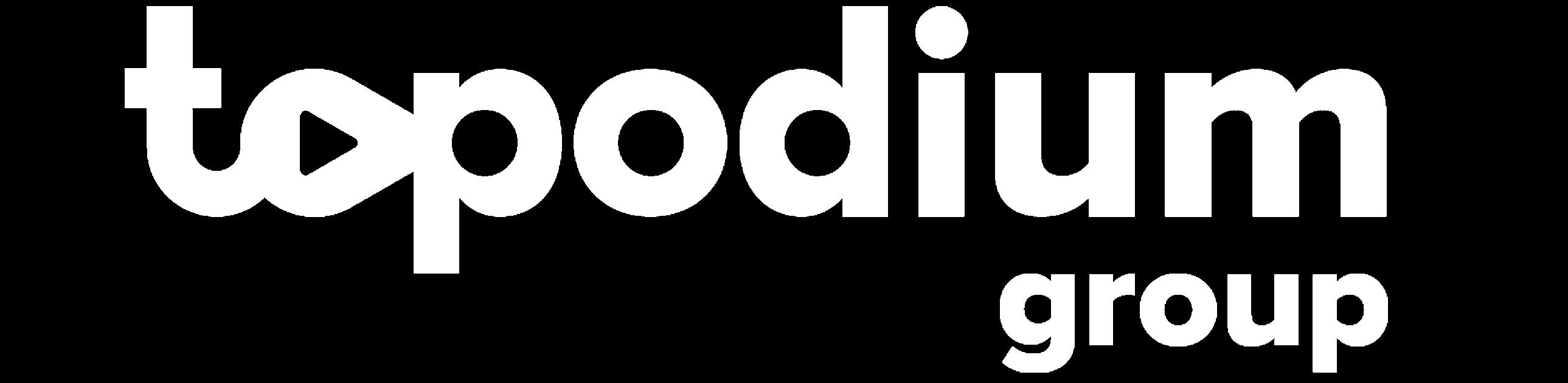 topodium group logo white